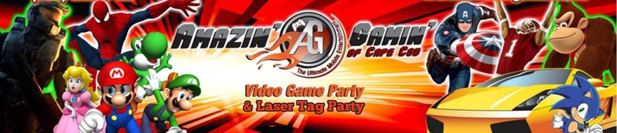 Amazin' Gamin' of Cape Cod – The Cape's Video Game Truck Party Expert – Birthday – School – Fundraiser & More