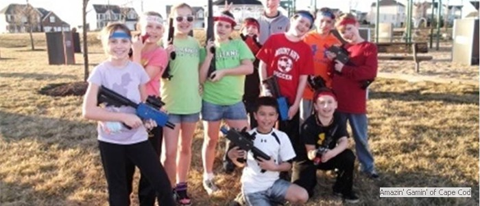 Our Laser Tag party comes right to you!